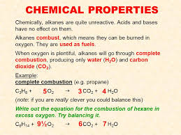 24 chemical properties chemically