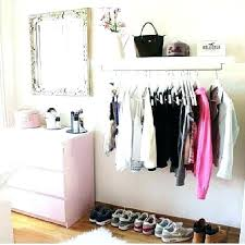 garment rack with shelf wall shelves for clothes astonishing ideas how to build closet wall shelves garment rack with shelf