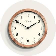copper kitchen wall clock homeware newgate clocks 158rac homeware