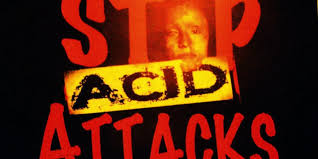 Image result for images of acid attack
