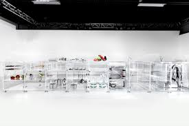 Infinity Kitchen Designs Total Transparency Clear Glass Infinity Kitchen Makes Everything