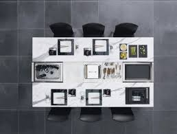 dining desk modern room furniture table top view d68 view