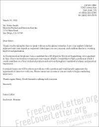 electrical engineering cover letter sample maintenance engineer cover letter