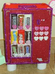 Valentine Shoe Box Decorating Ideas Valentine bagbox candy vending machine Pinteres 25