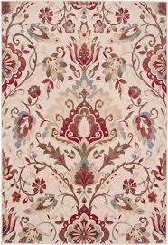 surya riley rly 5017 red area rug