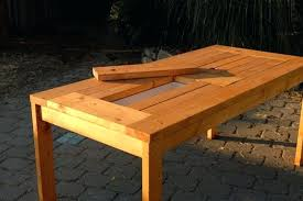 outdoor table plans patio table with built in beer wine coolers outdoor dining table building plans outdoor table plans