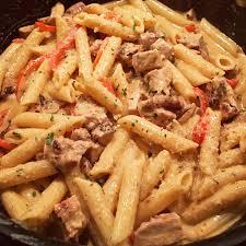 homemade cajun en pasta