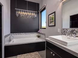 Contemporary Master Bathroom With High Ceiling  Limestone Floors - Contemporary master bathrooms