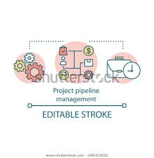 Project Pipeline Management Concept Icon Business Royalty