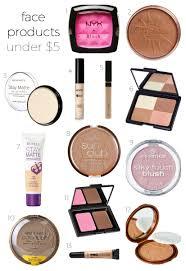 best makeup under 5 including nyx blush rimmel natural bronzer rimmel stay matte