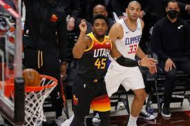 Utah Jazz vs Los Angeles Clippers NBA ...