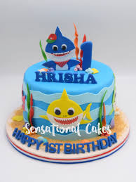 Baby Shark Cake Design Theme Cakes For Boys