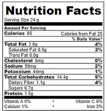 granola bars nutrition image weight watchers smartpoints 3 points
