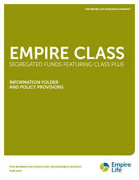 Rrif Minimum Payment Chart Segregated Funds Featuring Class Plus Empire Life