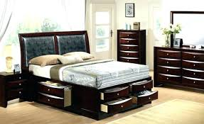 Twin White Bedroom Set Modular Wood Furniture Wooden Bed Kids 4 Size ...