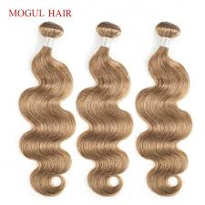 Light Brown Hair Color Mogul Hair Color 8 Ash Blonde Light Brown Indian Body Wave Hair Weave Bundles 2 3 4 Bundles Non Remy Human Hair Extension