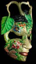 balinese buddha garden abstract mask wood carving bali wall decor art 9 on bali wood carving wall art with bali wood carving ebay