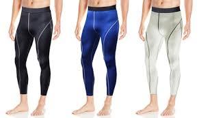 <b>Men's</b> Active Performance <b>Quick</b>-<b>Dry Compression</b> Pants