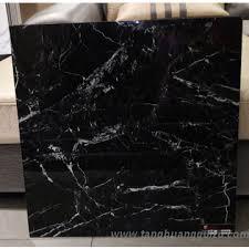 5d inkjet printing glazed polished porcelain black tiles floor