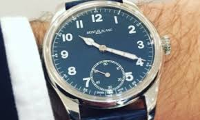 montblanc mens watches men and women s designer watches montblanc vintage performers goes back to 1858 at sihh