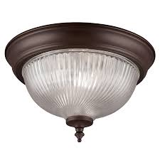 project source 11 in w painted oil rubbed bronze flush mount light
