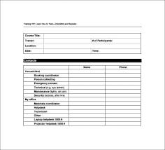 Training Templates For Word 5 Training Checklist Templates Word Excel Templates