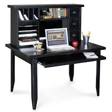black computer desk for home office furniture tribeca from kathy ireland christmas home decor astounding small black computer