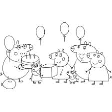 My little brother loves this show! Top 35 Free Printable Peppa Pig Coloring Pages Online