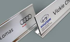 desk name plates door badgemaster within personalised plaque design 5