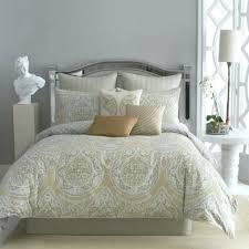 furnishing white neutral bedroom with modern living king size bedding sets lime green damask bedspread comforter