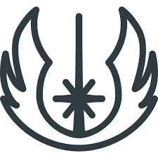 Jedi, logo, order, sigil, star, wars icon