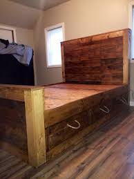 How To Make Drawers Furniture Home Beautiful How To Make A Pallet Bed With Drawers