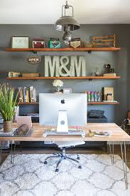 office shelves. Fine Office 9 Home Offices That Will Inspire You To Create Your Own DIY Office   Organization Makeover Small Work From Home Chic  Throughout Office Shelves