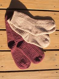 Crochet Socks Pattern