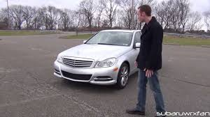The letters a, m and g don't hold special meaning for most people. Review 2012 Mercedes Benz C300 4matic Youtube