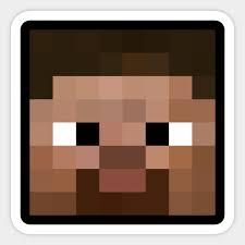 Minecraft Sticker Chart Steve