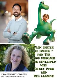 From sketch to screen - how The Good Dinosaur was developed with Kelsey Mann  and Meg LaFauve #GoodDinoEvent #GoodDino - Lovebugs and Postcards