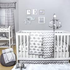 cloud crib bedding chevron crib starter set in grey target cloud crib bedding silver cloud nursery cloud crib bedding