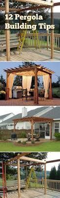 diy patio ideas pinterest. 12 Pergola Building Tips! Diy Patio Ideas Pinterest O