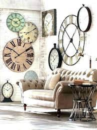 extra large wall clock extra large wall clock large wall clock for living room large wall