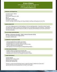 Sample Chronological Resume For Teachers Professional Resume Cv Maker