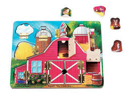 This wooden jigsaw puzzle comes packaged in they don't realize they are learning things because they are having so much fun. Customer Reviews Of Farm Magnetic Hide N Seek Doors