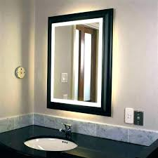 Image Bathroom Vanity Gretapotts Bathroom Mirror Lights Behind Mirrors Led Mesmerizing Wall