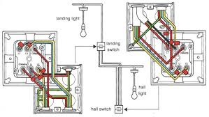 2 lights one switch wiring diagram uk wiring diagram Two Light Two Switch Wiring Diagram wiring a light two lights operated by one switch electrical two way switch two light wiring diagram