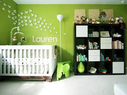 green nursery furniture. Cheerful Green Nursery With Whimsical Wall Art Furniture