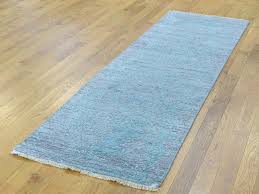 2 x5 runner rug lovely 2 5x5 9 hand knotted wool and silk