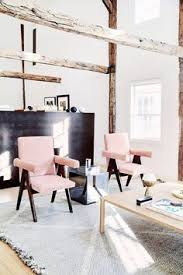 those pink chairs
