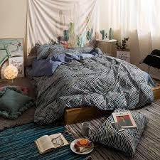 ful zebra print bedding set 3 twin queen size cotton bedlinens duvet cover set flat sheet pillow cases bedding sets full full size duvet cover from