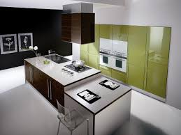 modern kitchen mats. Modern Minimalist Kitchen Island With Gas Cooktop And Stainless Steel Sink Also Transparent Acrylic Mats U