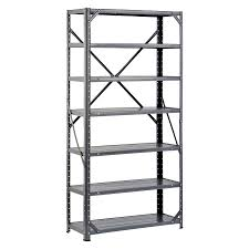 ... Steel Freestanding Shelving Unit. Product Image 1. edsal 60-in H x  30-in W x 12-in D 7